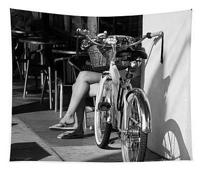 Leg Power - B And W Tapestry