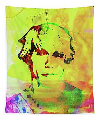 Legendary Anthony Kiedis Watercolor Tapestry