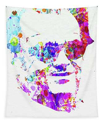 Legendary Jack Watercolor Tapestry