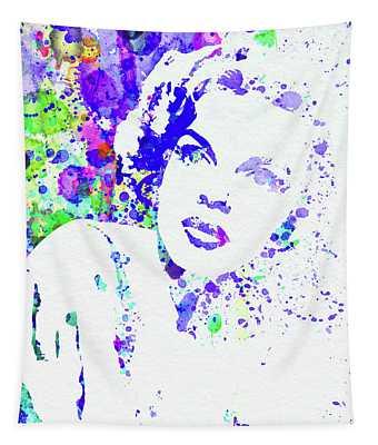 Legendary Judy Garland Watercolor I Tapestry