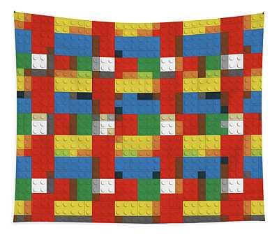 Lego Design Tapestry