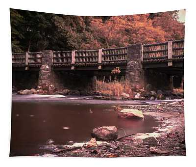 Lehigh Parkway Robin Hood Bridge - Impressionism Tapestry