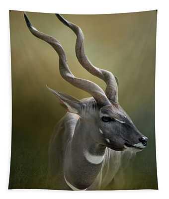 Lesser Kudu Tapestry