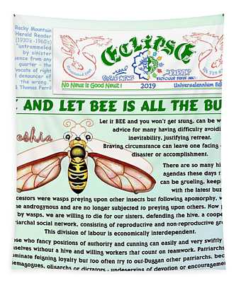 Let It Bee Tapestry