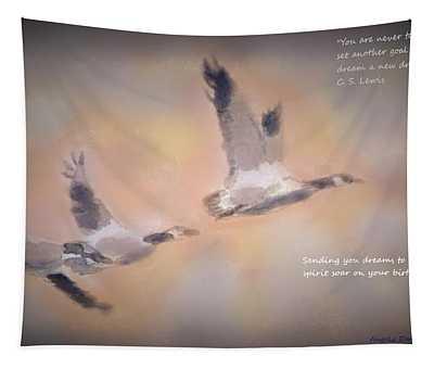 Let Your Spirit Soar Tapestry