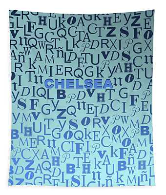 Letters Of Chelsea Tapestry