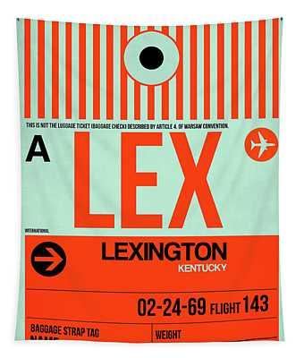 Lex Lexington Luggage Tag I Tapestry