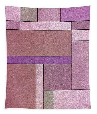 Harmony Theme Abstract Composition Tapestry