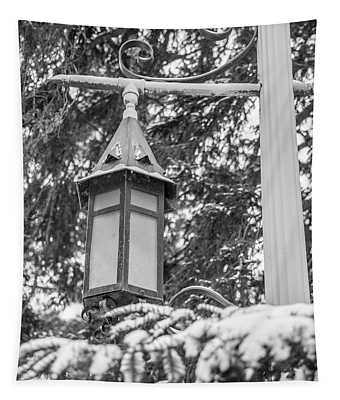 Light Post Michigan State University  Tapestry