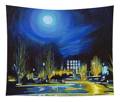 Light Side Of The Moon Tapestry
