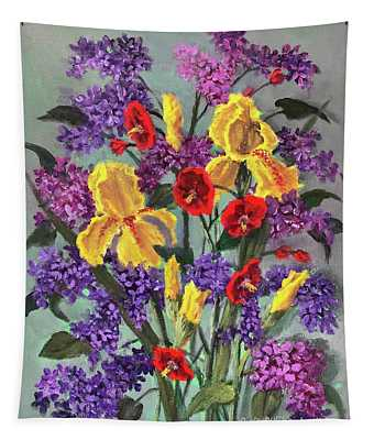 Lilac Days Tapestry