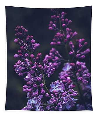 Lilac In Early Bloom Tapestry
