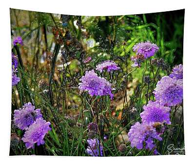 Lilac Jelly Pincushion Tapestry