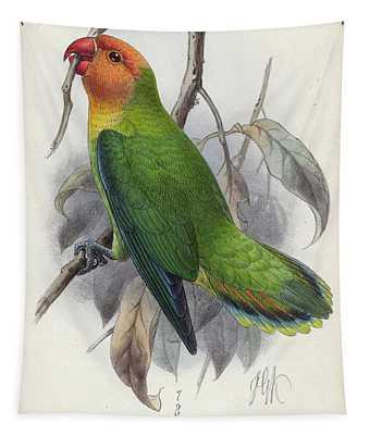 Lilian's Lovebird Tapestry