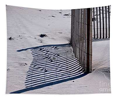 Tapestry featuring the photograph Lines In The Sand by Patti Whitten