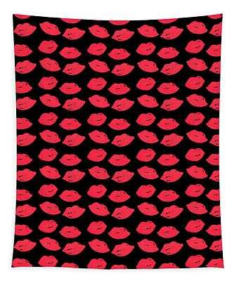 Lips Tapestry