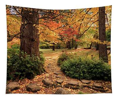 Lithia Park Path Tapestry