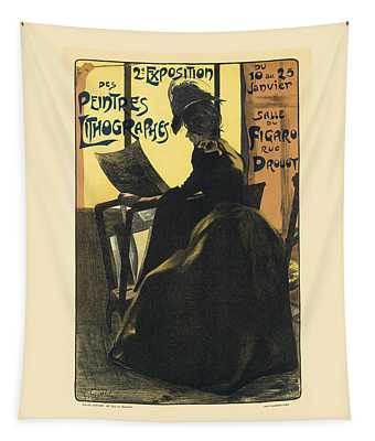 Lithographes Vintage French Advertising Tapestry