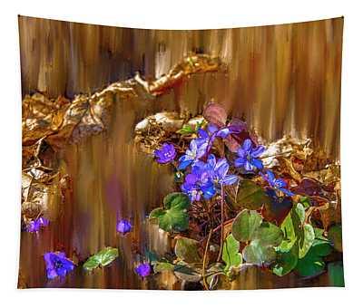 Little Blue #i6 Tapestry
