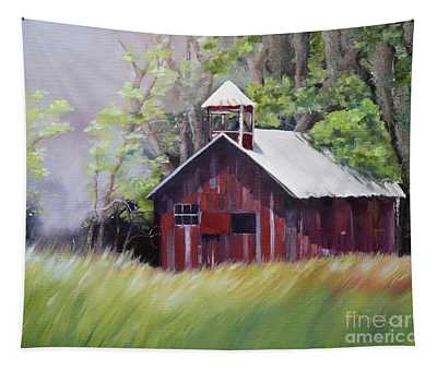 Little Red Schoolhouse - Lyndhurst Plantation - Florida Tapestry