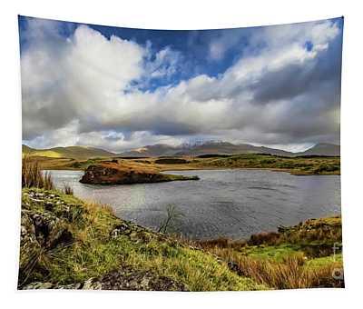 Llyn Y Dywarchen Snowdonia Tapestry
