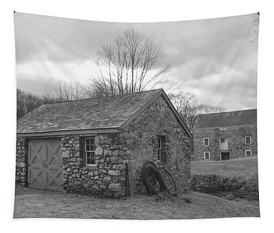 Lock House And Store - Waterloo Village Tapestry