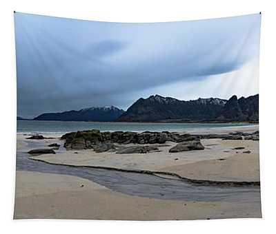 Lofoten Beach Tapestry
