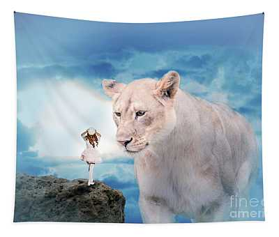 Lolita And The Lion Tapestry