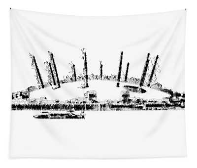 London O2 Arena Tapestry