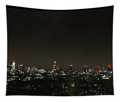 London Skyline Tapestry