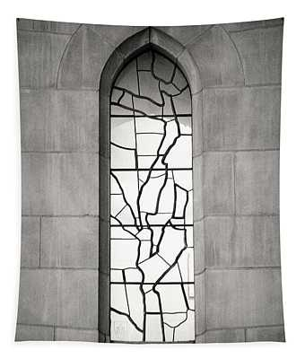 Lone Cathedral Window Tapestry