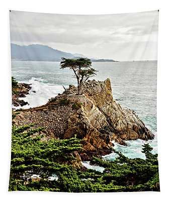 Lone Cypress Tapestry