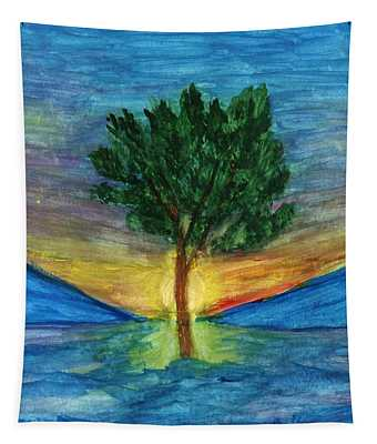 Lonely Pine Tapestry