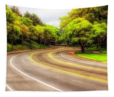 Long And Winding Road 3 Tapestry