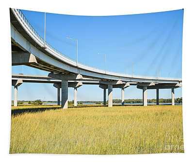 Long Concrete Bridge  Tapestry