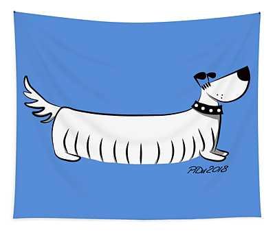 Long Dog Tapestry