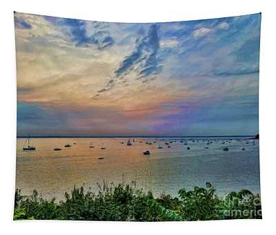 Long Island Sound From Glen Cove Tapestry