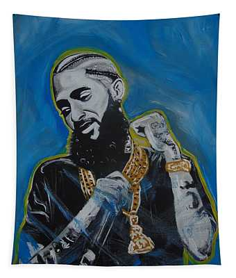 Long Live Nipsey Tapestry