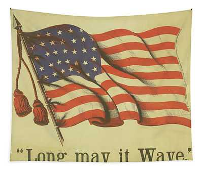 Long May It Wave Tapestry