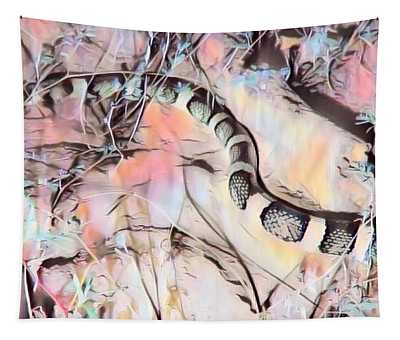 Tapestry featuring the photograph Longnosed Snake - Rhinocheilus Lecontei by Judy Kennedy