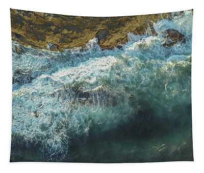 Longreef Waves Tapestry