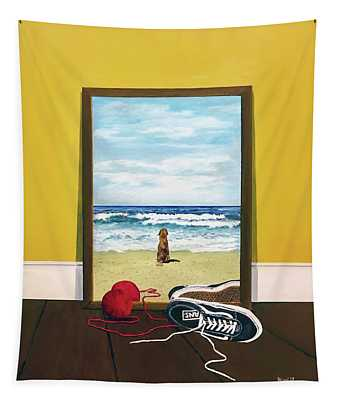 Loose Ends Tapestry