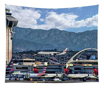 Los Angeles International Airport Tapestry