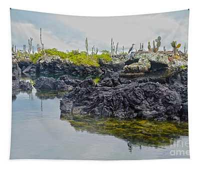 Los Tuneles, Galapagos Islands, Ecuador Tapestry