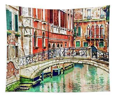 Lost In Venice Tapestry