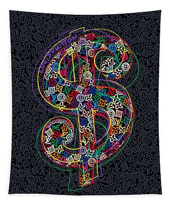 Louis Vuitton Dollar Sign-8 Tapestry