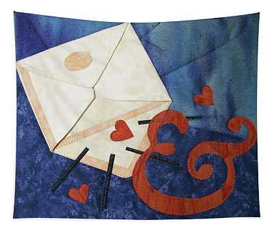 Love Letter Tapestry