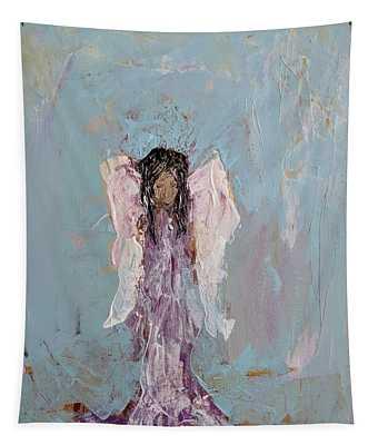 Lovely Angel  Tapestry