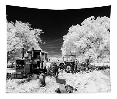 Low Country Tractor Tapestry