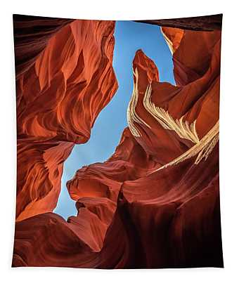 Lower Antelope Canyon Seahorse Tapestry